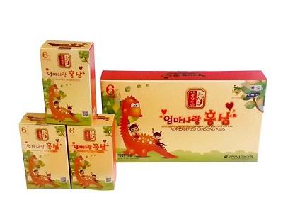 Hồng sâm trẻ em Pocheon 20ml x 30 gói chính hãng Hàn Quốc