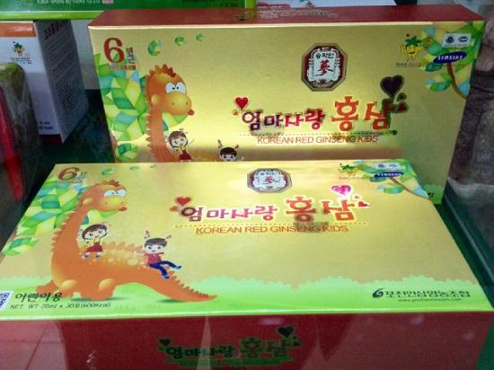 Tác dụng của Hồng sâm trẻ em Pocheon 20ml x 30 gói