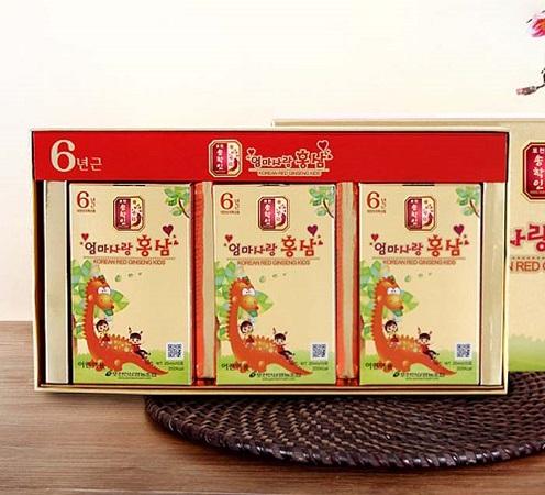 Hồng sâm trẻ em Pocheon 20ml x 30 gói cho trẻ mau ăn chóng lớn