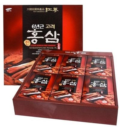 Nước Hồng Sâm 30 gói Teeung Hàn Quốc cung cấp năng lượng