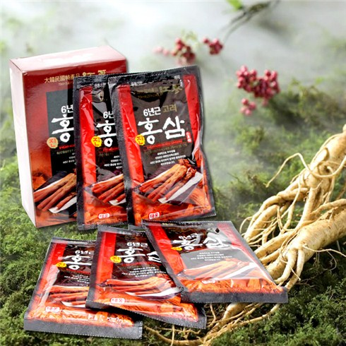 Nước Hồng Sâm 30 gói Teeung tốt cho sức khỏe