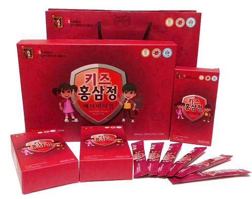 Nước Hồng Sâm Baby Sanga Hàn Quốc Chất Lượng Cao Cấp Tốt Nhất Cho Trẻ