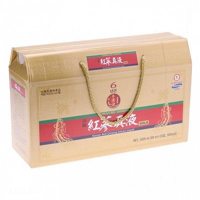 Nước hồng sâm Hàn Quốc Daedong với dạng gói 80ml x 30 gói