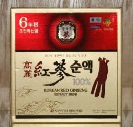 Nước hồng sâm Hàn Quốc Red Ginseng Extract Drink chính hãng