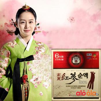Nước hồng sâm Hàn Quốc Red Ginseng Extract Drink chất lượng cao