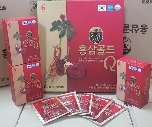 q - korea red ginseng gold được nhiều khách hàng tin dùng