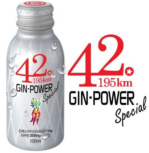 Nước sâm giải độc rượu bia và tăng lực Gin – Power 100ml Hàn Quốc