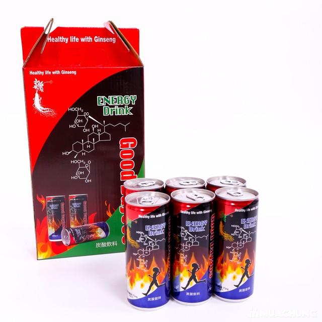 Nước tăng lực hồng sâm Good Day 365 Energy Drink bổ dưỡng