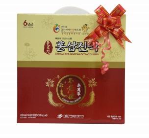 Quà tặng tinh chất hồng sâm hộp giấy 60 gói Hàn Quốc ý nghĩa