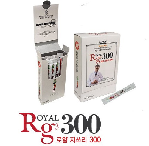 Sâm Royal Rg3 300 Hàn Quốc hộp 20 gói