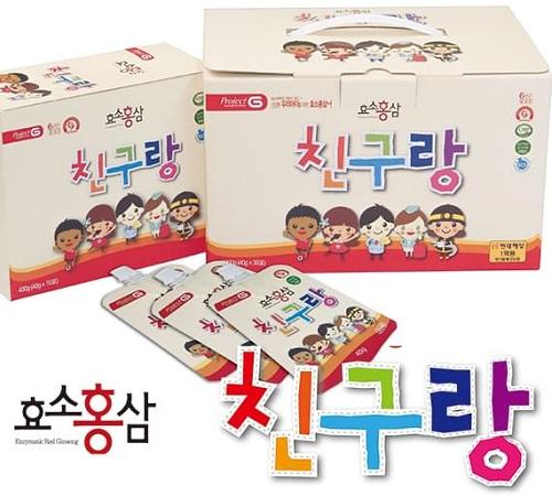 Thạch hồng sâm trẻ em Chin Gu Rang Hàn Quốc