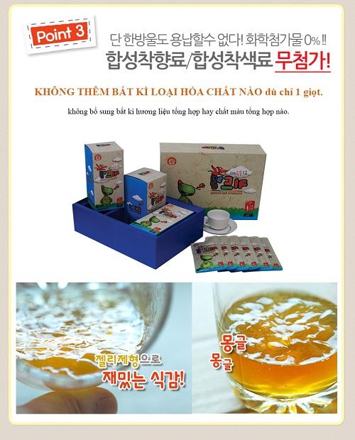 Thạch hồng sâm trẻ em Khủng Long Kidgel Hàn Quốc