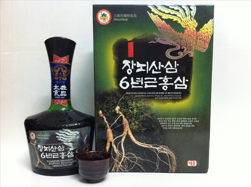 Tinh chất Hồng sâm núi 6 năm tuổi Hàn Quốc chất lượng cao