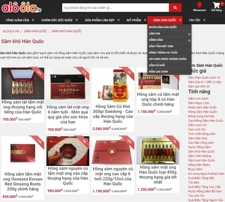 Top 3 cửa hàng bán sâm Hàn Quốc