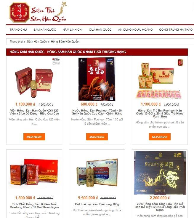 Review top 3 địa chỉ bán hồng sâm chất lượng tại Hà Nội