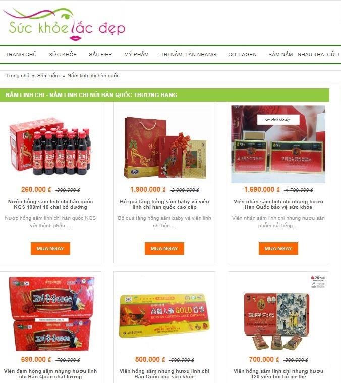 Top 3 địa chỉ mua nấm linh chi Hàn Quốc uy tín tin cậy nhất hiện nay