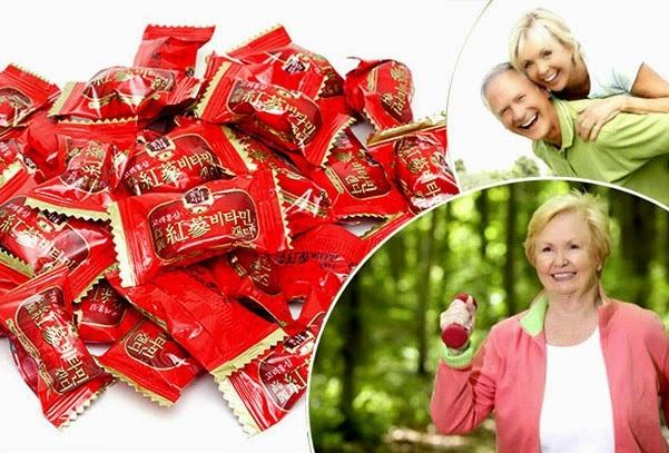 Top 3 kẹo Hồng sâm Hàn Quốc được yêu thích nhất hiện nay