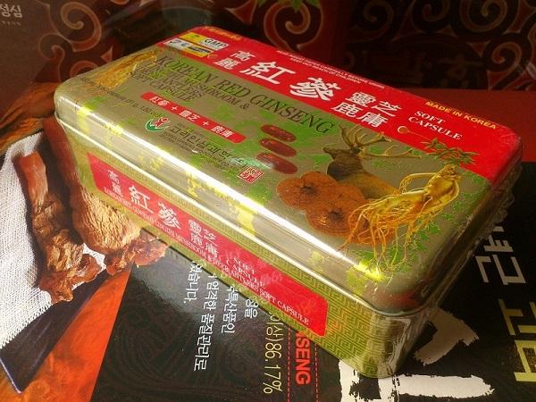 Review top 5 viên hồng sâm Linh Chi Hàn Quốc