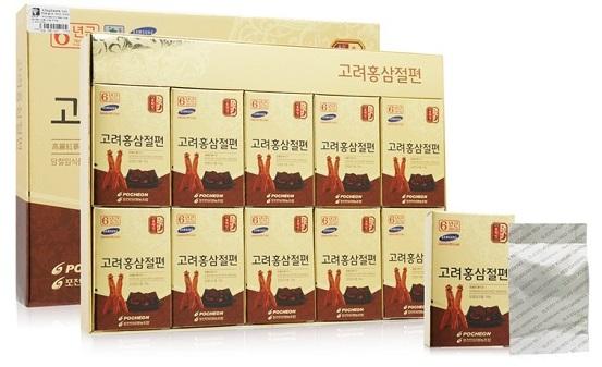 Top 7 hồng sâm tẩm mật ong Hàn Quốc tốt nhất