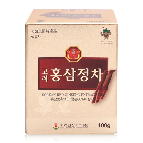 Trà cao hồng sâm Red Ginseng Extract Tea 100g chất lượng cao