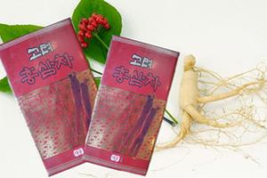 Trà hồng sâm Hàn Quốc hộp 100 gói giúp tăng cường trí lực