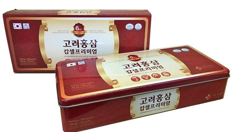 Viên nang hồng sâm Daedong Hàn quốc cho bạn sức khỏe vàng