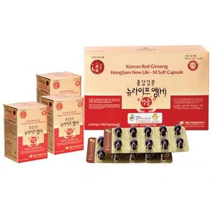 Viên uống Hồng sâm Hàn Quốc - Bổ máu, phục hồi sức khỏe