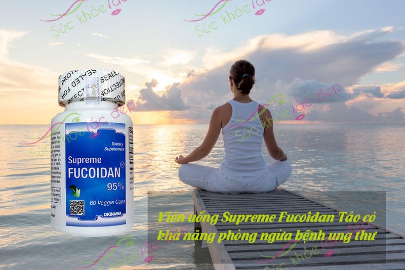 Tảo Fucoidan có chức năng nâng cao sức đề kháng, khả năng miễn dịch