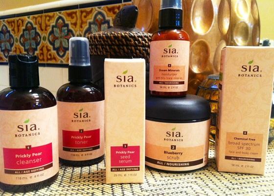 Serum chống lão hóa tinh chất hạt xương rồng Sia Botanics