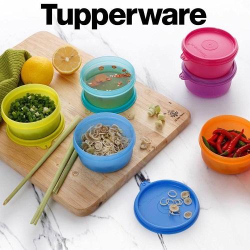 bộ hộp bảo quản thực phẩm tupperware small saver