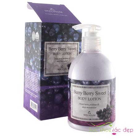 mua sữa dưỡng thể the skin house berry berry sweet body lotion ở đâu uy tín?