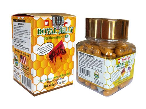 viên uống sữa ong chúa - Royal Jelly 1400