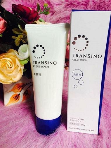 Sữa rửa mặt Nhật Bản Transino Clear Wash phù hợp mọi loại da