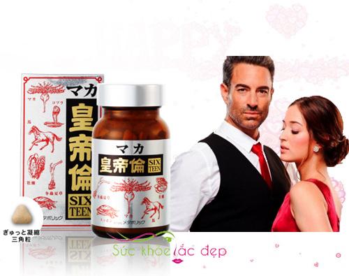 Công dụng của thực phẩm chức năng maka sixteen 200 viên Nhật Bản là gì?