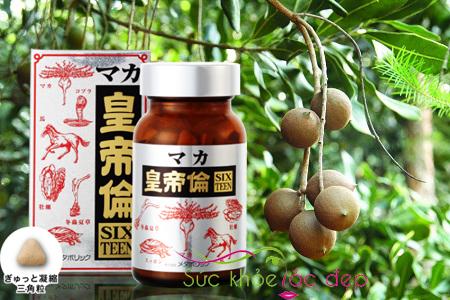 Công dụng của thực phẩm chức năng maka sixteen  trong việc hỗ trợ chống xuất tinh sớm