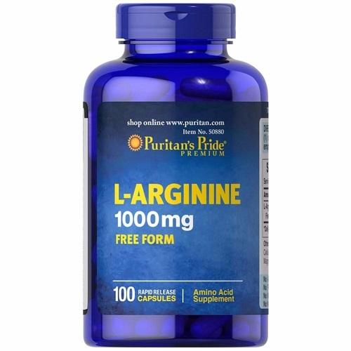 Puritan's pride l-arginine 1000mg