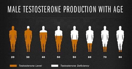 nguyên nhân suy giảm testosterone ở nam giới