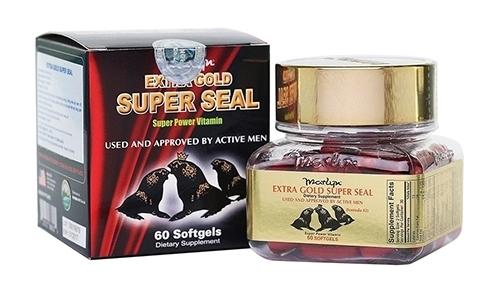 Tăng cường sinh lý nam với extra gold super seal dùng cho nam giới bị yếu sinh lý