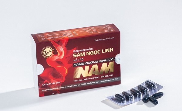 Viên Nang Mềm Sâm Ngọc Linh