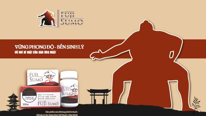 Cơ chế hoạt động viên uống tăng cường sinh lực Fuji Sumo là gì?