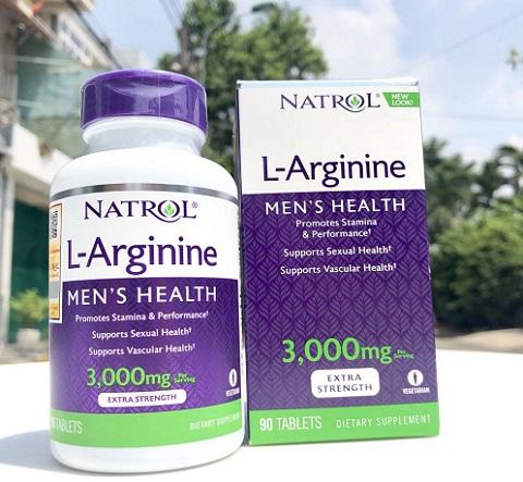 Viên Uống L-Arginine 3000mg