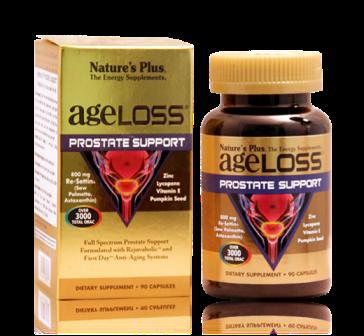 Ageloss Prostate Support - tăng cường chức năng sinh lý nam