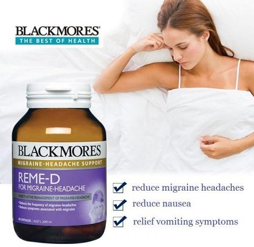 Blackmores Reme-d có công dụng giúp cải thiện trí nhớ.