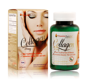 Viên uống collagen 500mg vitamins for life