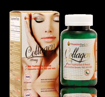Viên uống collagen 500mg vitamins for life