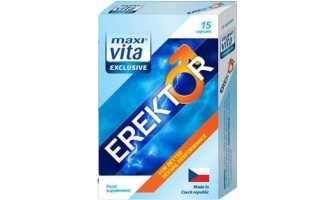 Erektor - hỗ trợ tăng cường sinh lý cho phái mạnh