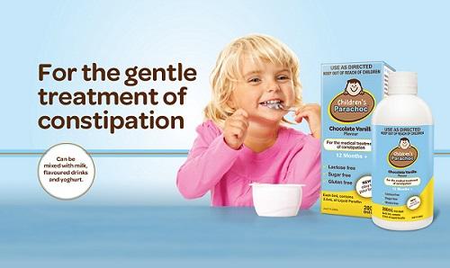 Children's Parachoc Siro giúp bé ăn ngon miệng