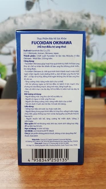 cách trị ung thư bằng fucoidan