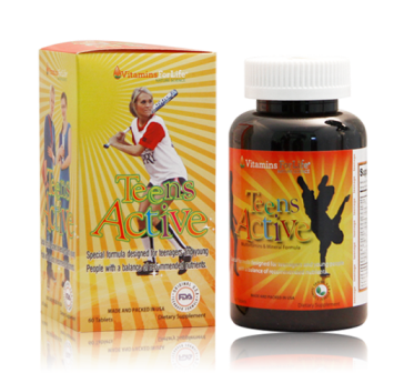 Viên uống Teesn's Active Multivitamins vitamins for life