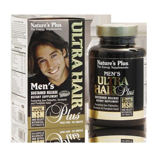 Ultra Hair Men - tăng cường mái tóc chắc khỏe cho nam giới